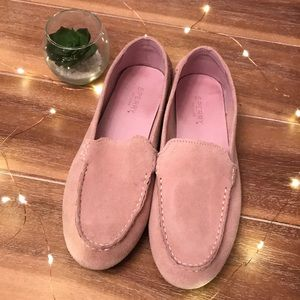 🌺 Like New Sperry Pink Loafers